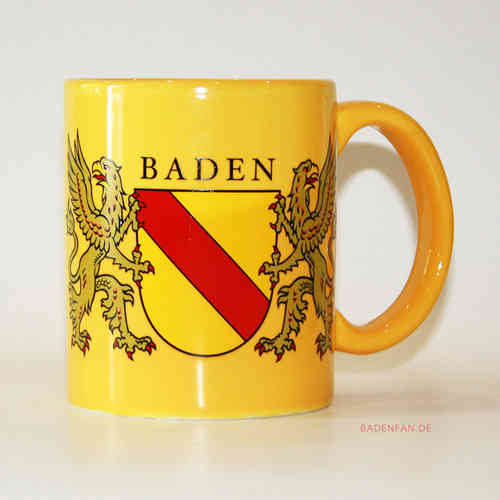 Baden-Becher in gelb