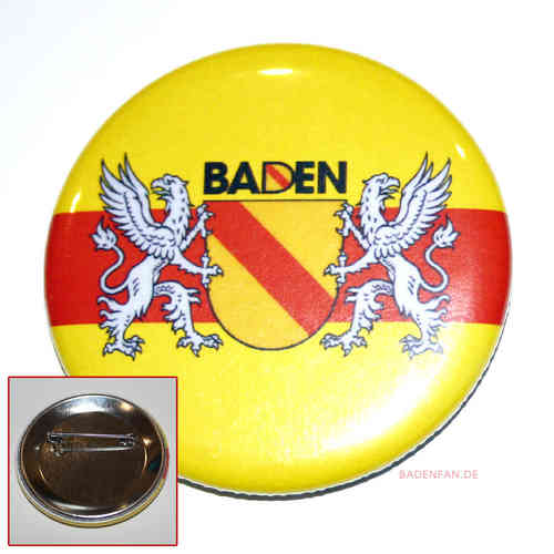 Baden-Button als Anstecker