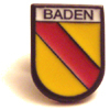 Pin: Baden in Emaille